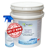 attax hot tank powder cleaner ferrous metals chemical cleaning solution