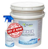avenger non caustic multi purpose alkaline cleaner degreaser chemical cleaning solution