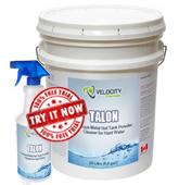 TALON - Ferrous Metal Hot Tank Powder Cleaner for Hard Water