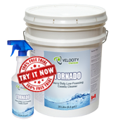 TORNADO - Heavy Duty Low Foaming Caustic Cleaner